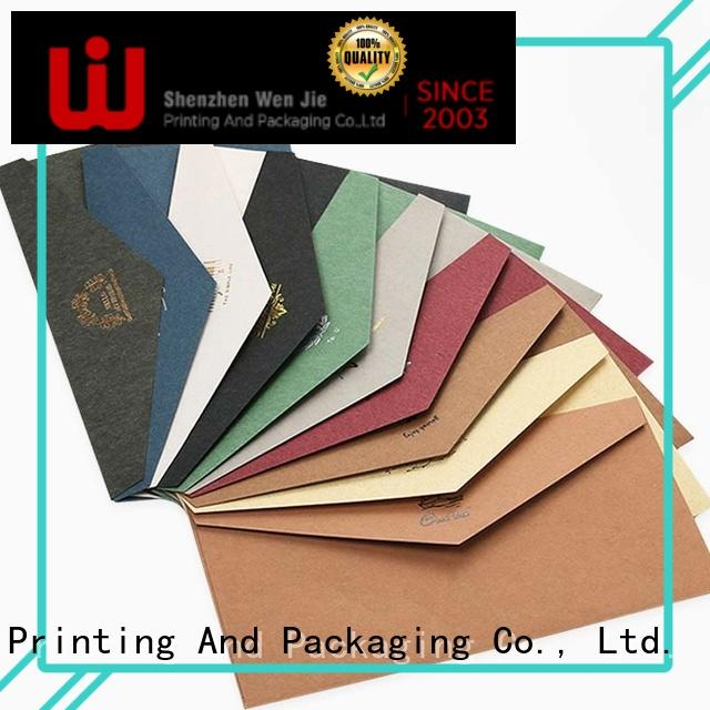 WenJie High-quality a6 envelope printing wholesale for store