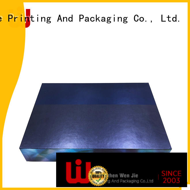 Luxury cardboard base and lid boxes printing different designs skincare products packaging box insert