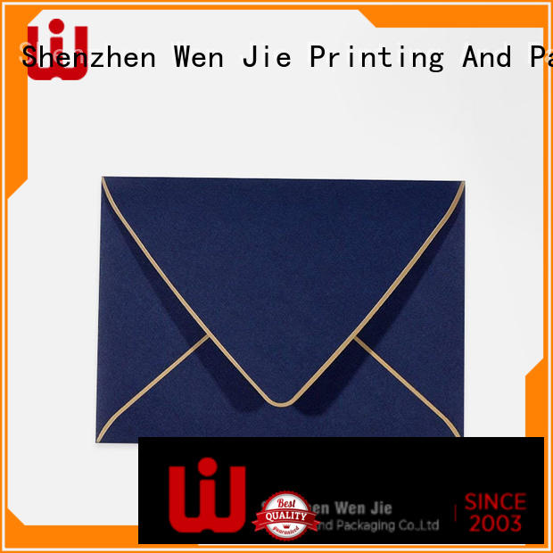 WenJie packaging custom a4 envelopes factory for store