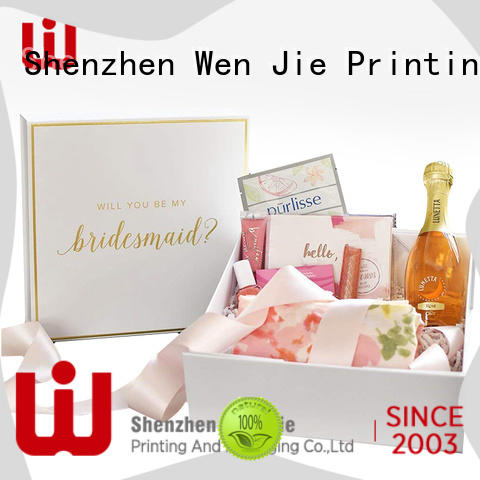 WenJie easy cosmetic box Suppliers for shop