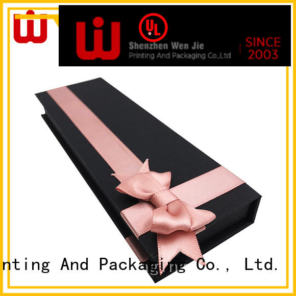 WenJie elegant magnetic box factory price for wrapping