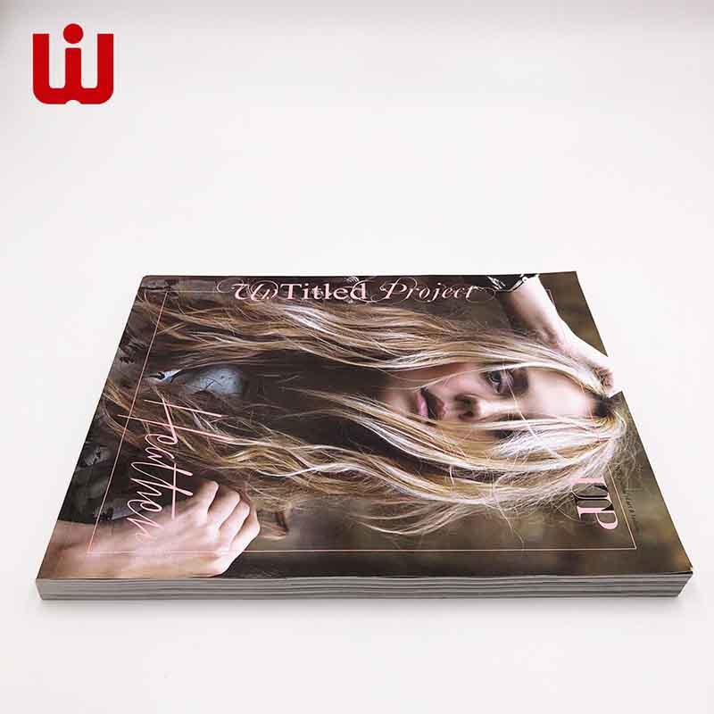 Custom softcover Magazine/Book printing China Directly factory