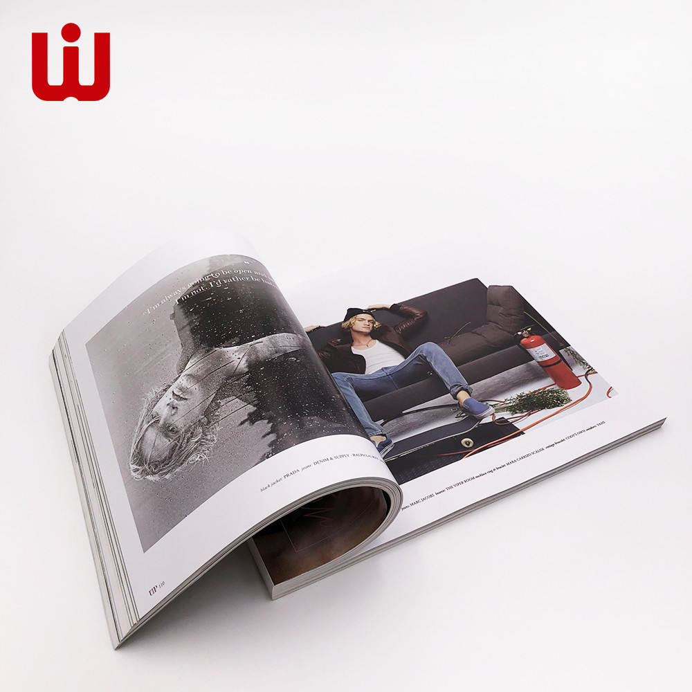 Custom 24 printing services magazinebook for business for book store-1