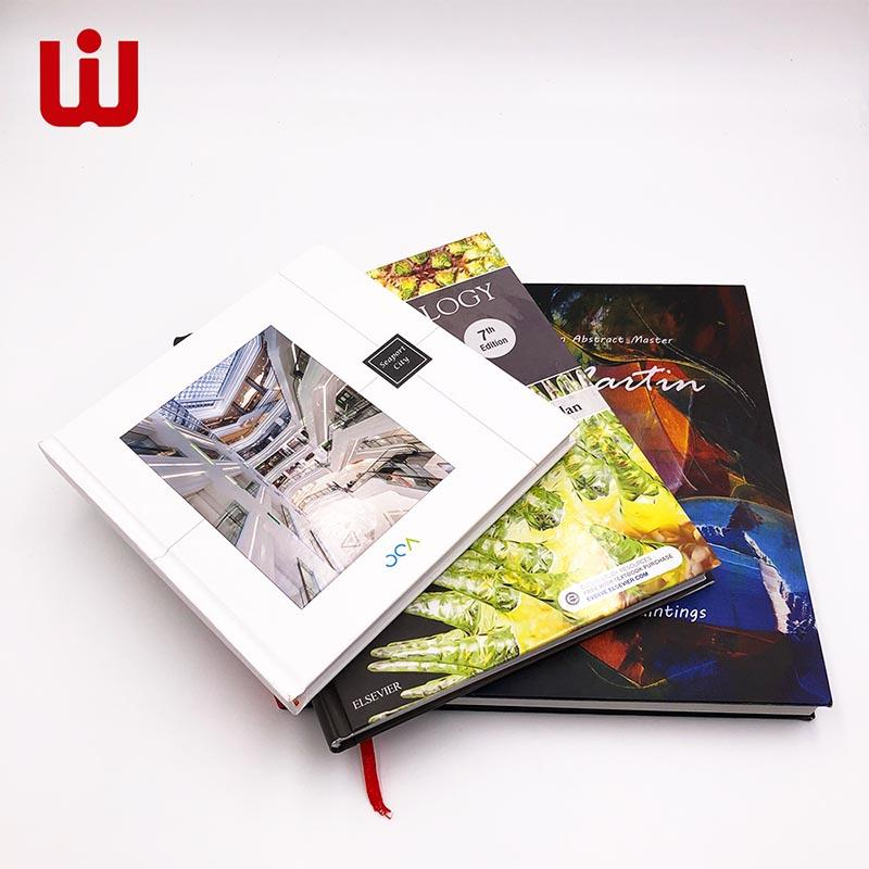 WenJie gold custom magazine printing online for press