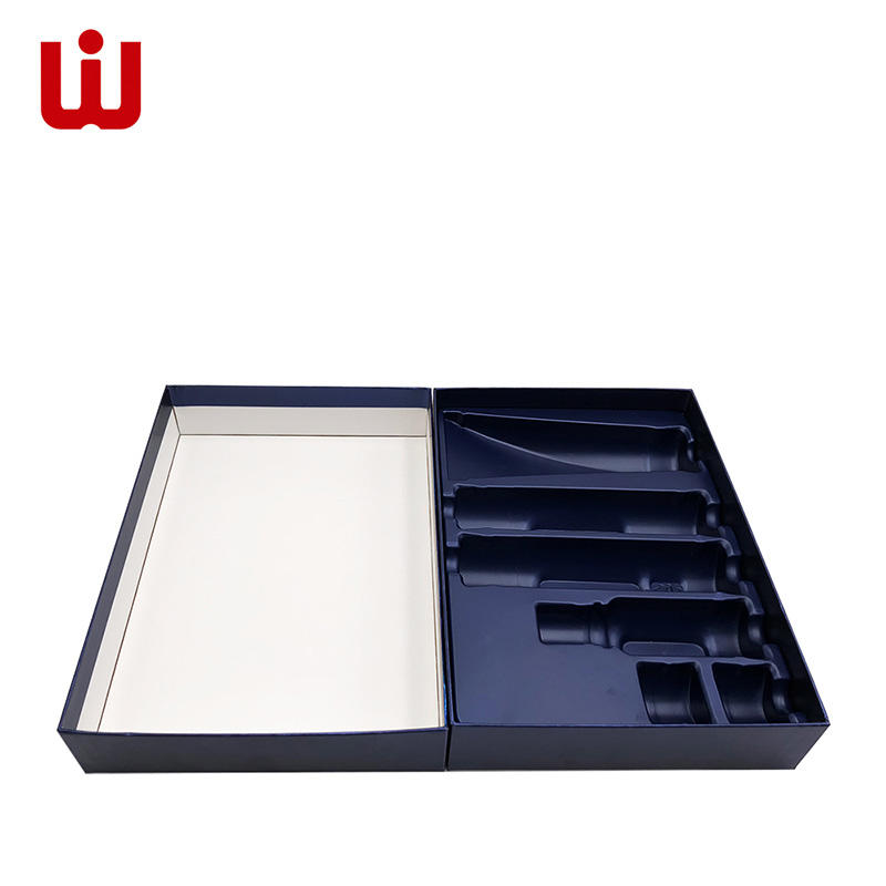 WenJie paper custom cosmetic packaging supplier kit for shop