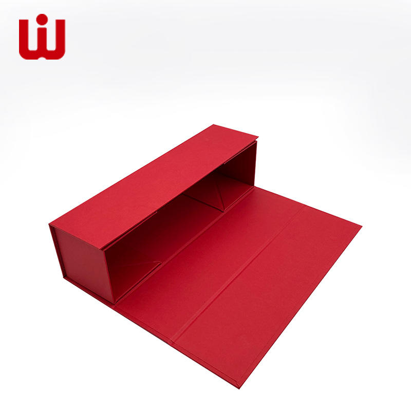 WenJie paper folded paper box with lid for business for packing