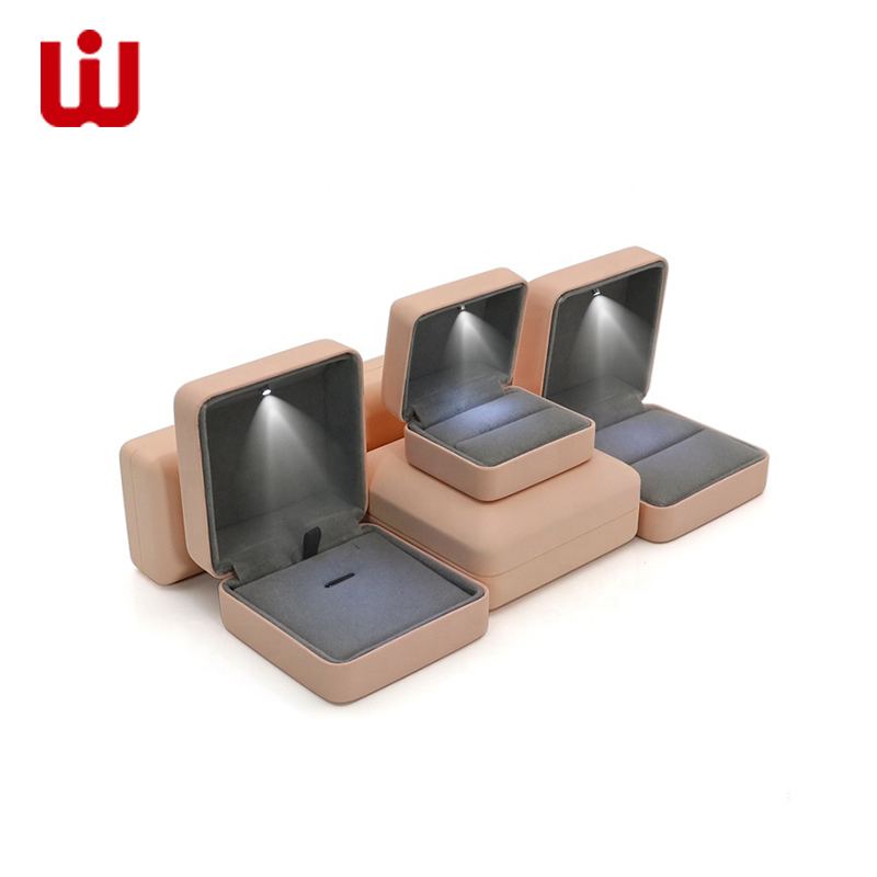 WenJie-Jewelry Box, Custom Logo Hot Sale Paper Jewelry Packaging Box