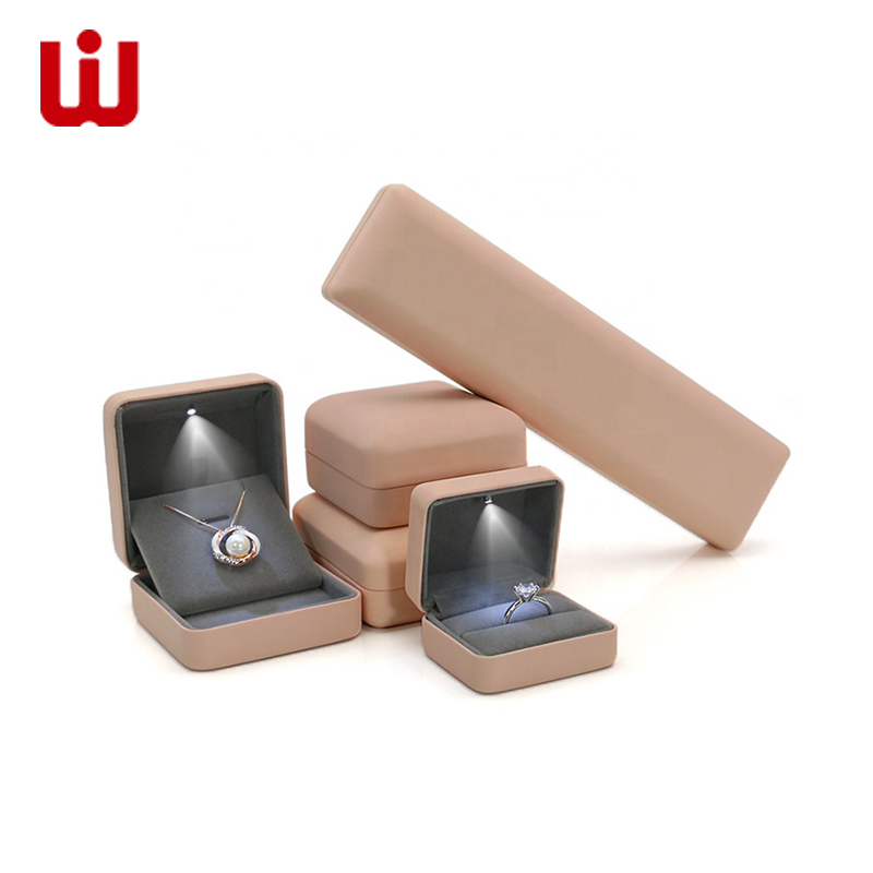 WenJie-Jewelry Box, Custom Logo Hot Sale Paper Jewelry Packaging Box-1