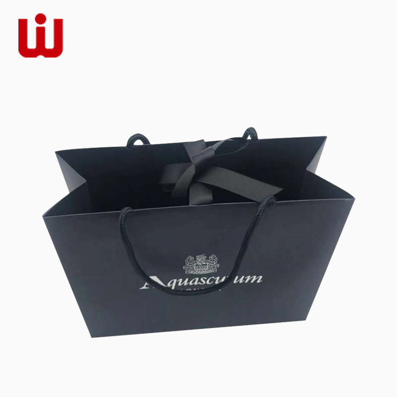 WenJie white brown paper gift bags wholesale directly price for shop-1