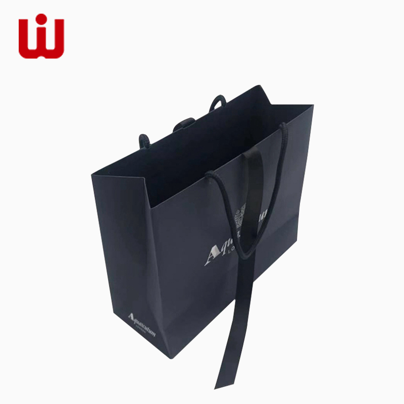 WenJie white brown paper gift bags wholesale directly price for shop-3