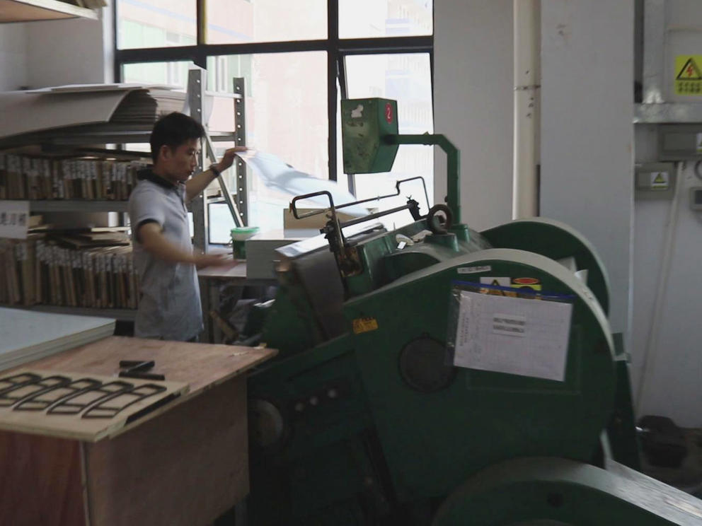 Die Cutting Machine Perfect Bound Book Printing