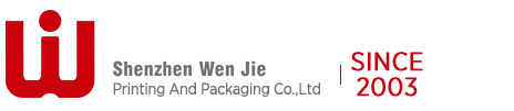 Color printing packaging printing method