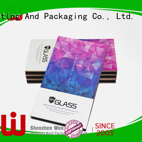 WenJie box cardboard storage for business for packing