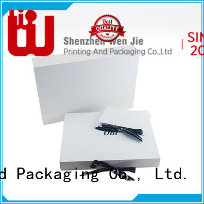 WenJie elegant paper box holder for business for store
