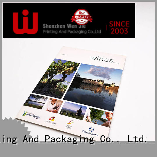 WenJie brochure personalised catalogue promotion for book store