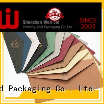 quality envelope printing wholesale for store WenJie