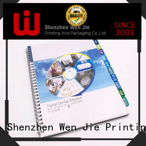 New color catalog printing cover promotion for store