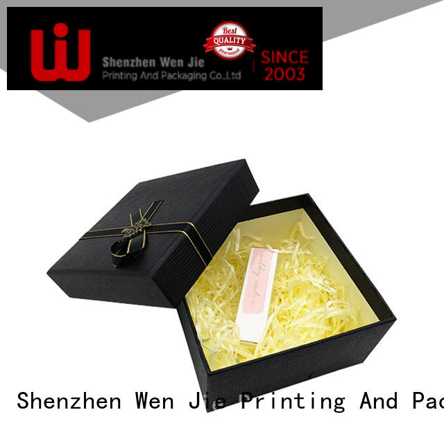 paper gift box luxury for store WenJie