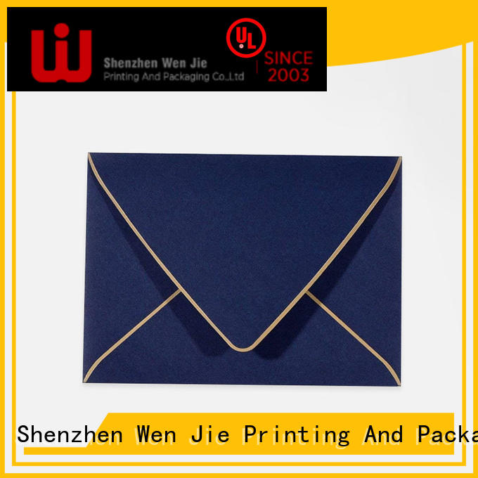 WenJie Wholesale get envelopes printed for business for wedding