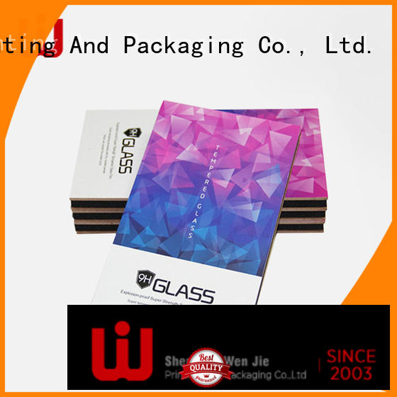 WenJie high quality electronics cases boxes film for shop