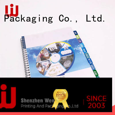 WenJie art product catalog printing supplier for shop