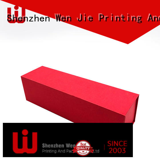 WenJie elegant magnetic folding box manufacturer for store