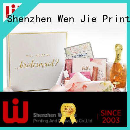 WenJie cardboard packaging of cosmetics factory for shop