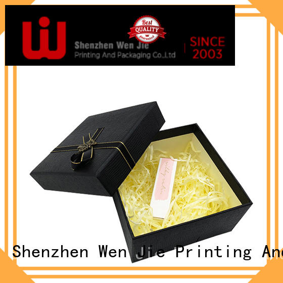 WenJie patterned magnetic gift box design for store