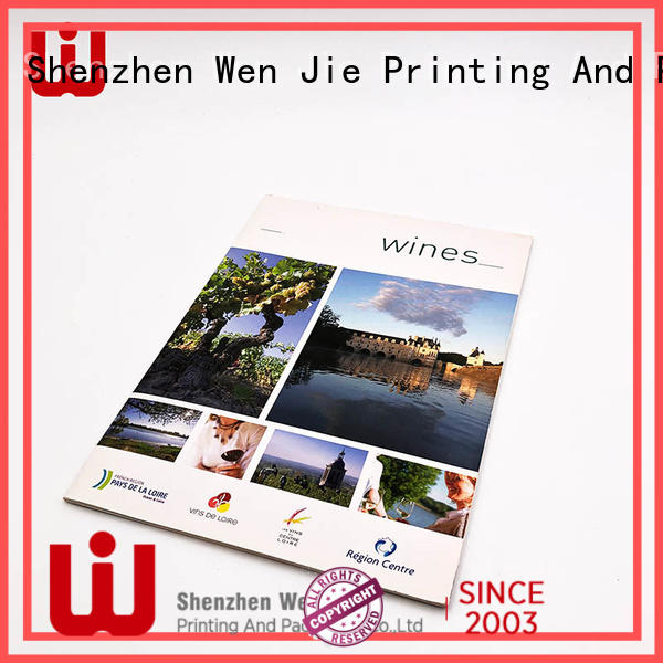 WenJie 15 accordion brochure printing for business for publisher