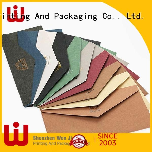WenJie good quality custom a6 envelopes manufacturers for shop