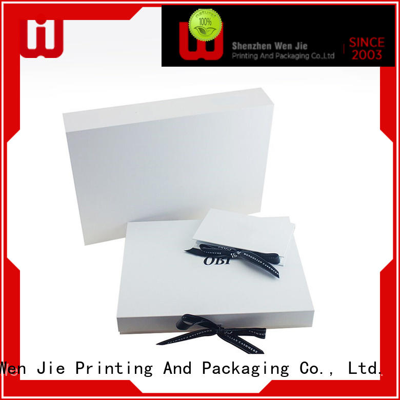 WenJie pink custom folding boxes online for store