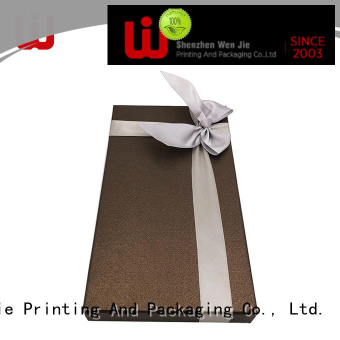 WenJie customized large gift boxes for presents for business for supermarket