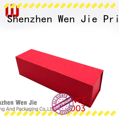 WenJie packing paper box folding instructions online for packing