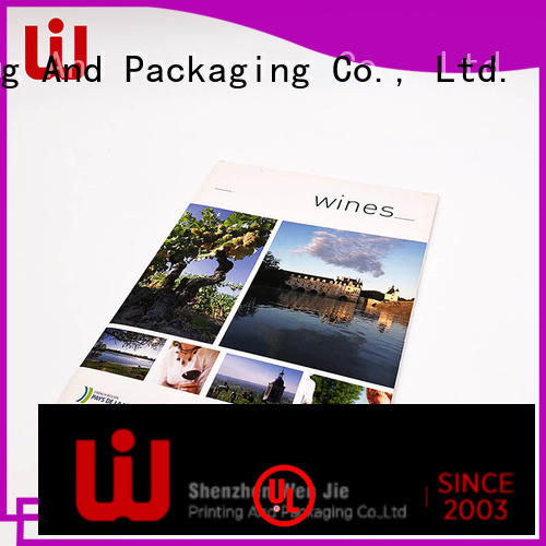 WenJie quality product catalog printing promotion for store