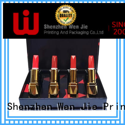 WenJie clear cosmetic box directly price for beauty shop