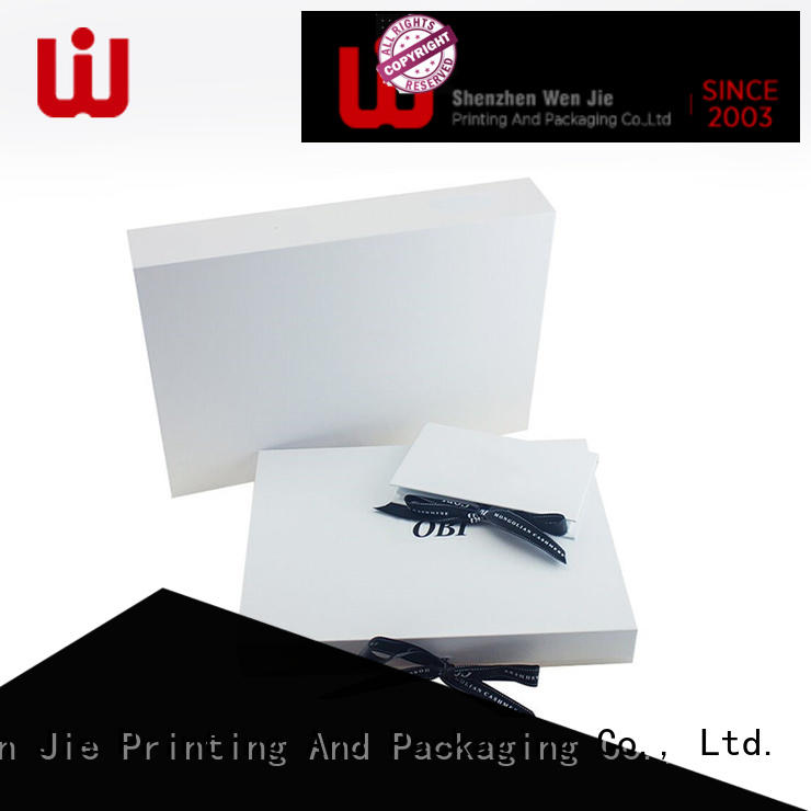 foldable box packaging for store WenJie