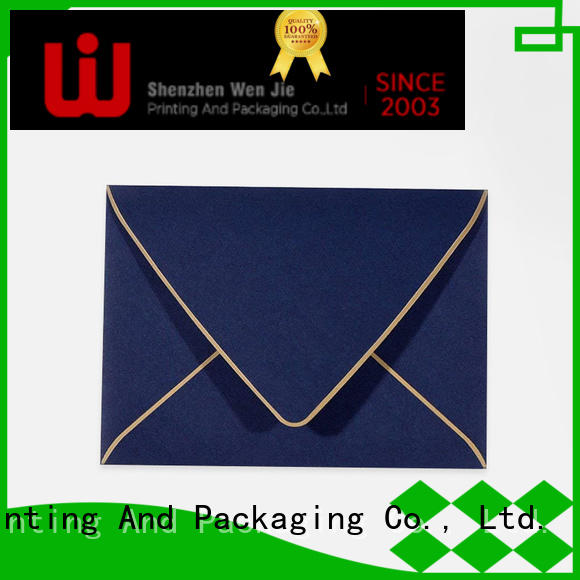 WenJie High-quality custom large envelopes wholesale for wedding