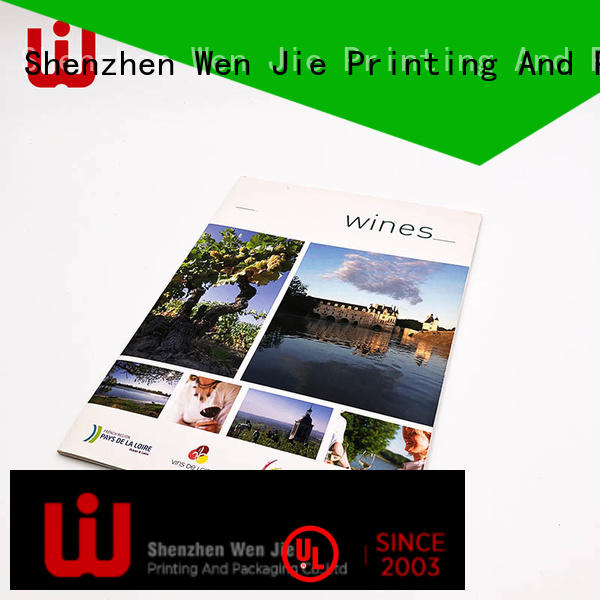 WenJie customized art catalogue printing supplier for shop
