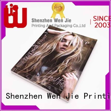 WenJie gold printing copy directly price for press