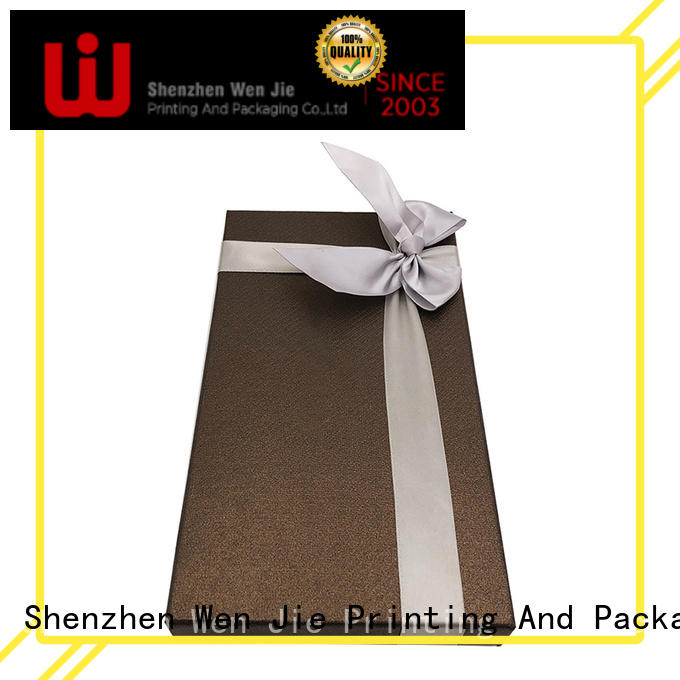 WenJie Top sturdy christmas gift boxes Suppliers for store
