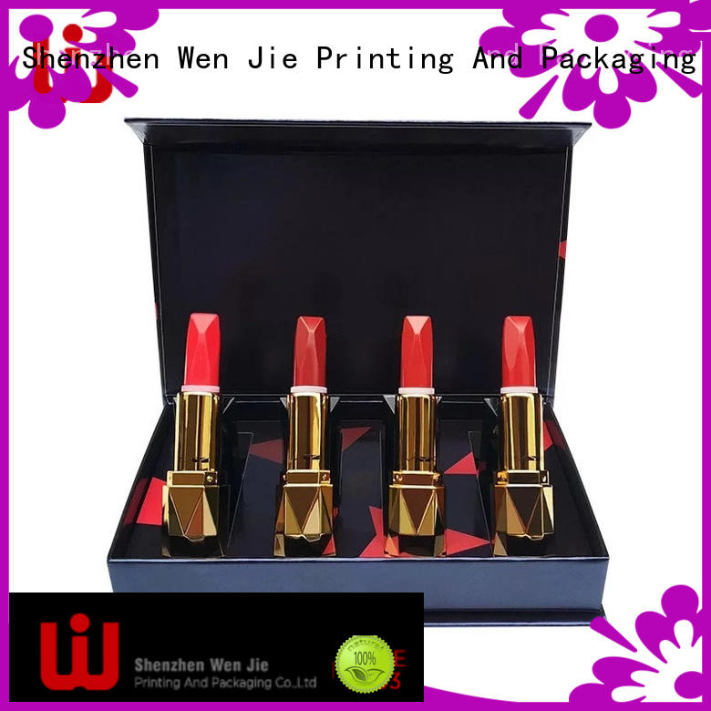 WenJie eyelash cosmetic packaging wholesale directly price for store
