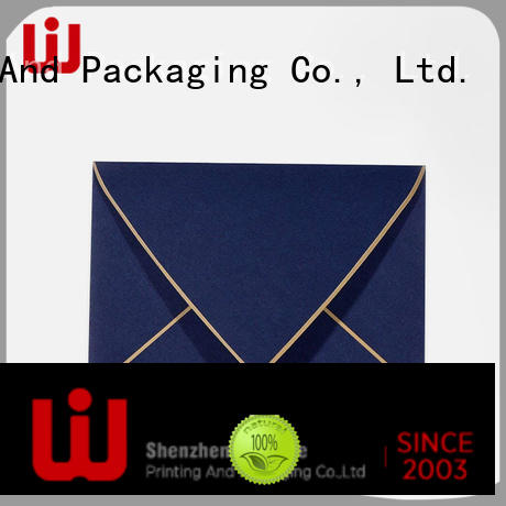 WenJie customized logo envelop manufacturer for shop
