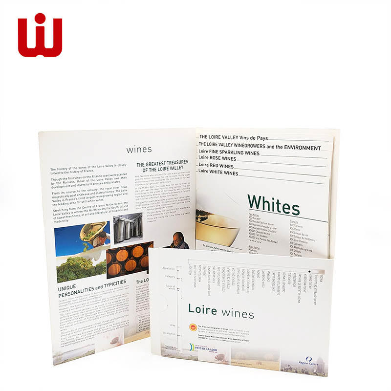 WenJie brochure personalised catalogue promotion for book store-3