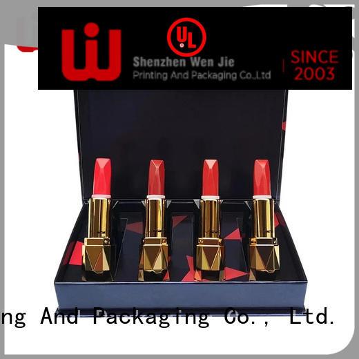 WenJie cardboard custom made makeup box set for shop