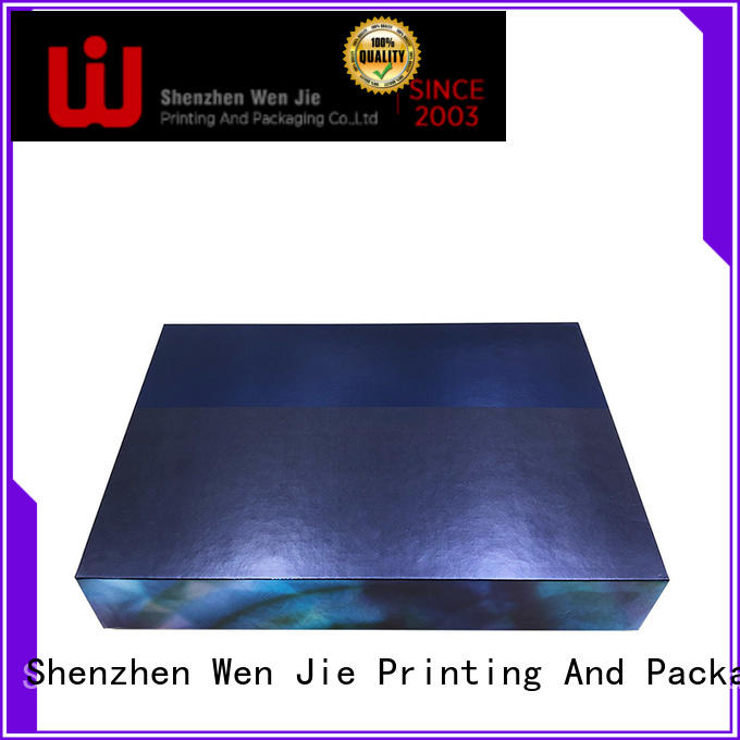 WenJie printing cosmetic gift box set for beauty shop