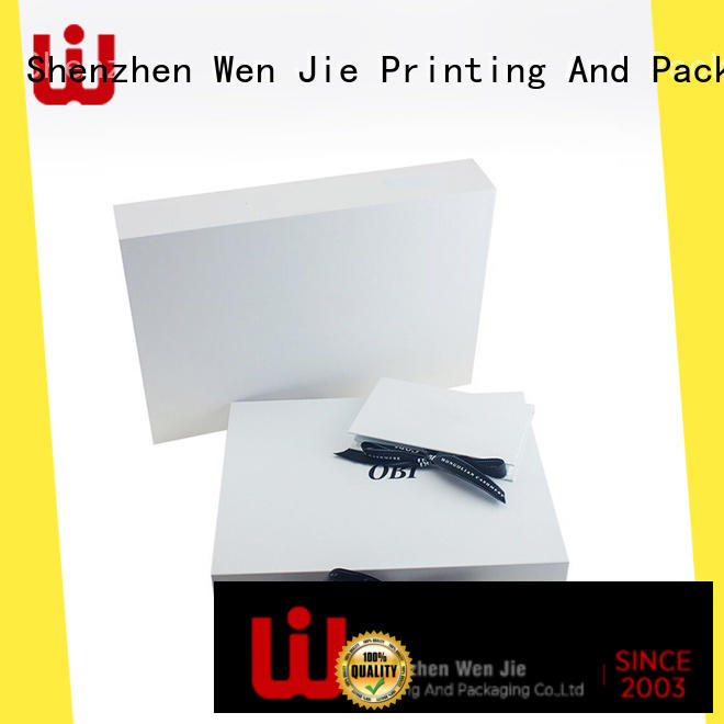 WenJie Wholesale fold over box for business for store