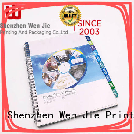 WenJie High-quality high quality book printing manufacturers for restaurant
