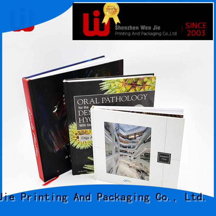 WenJie cost art magazine printing directly price for publishing house