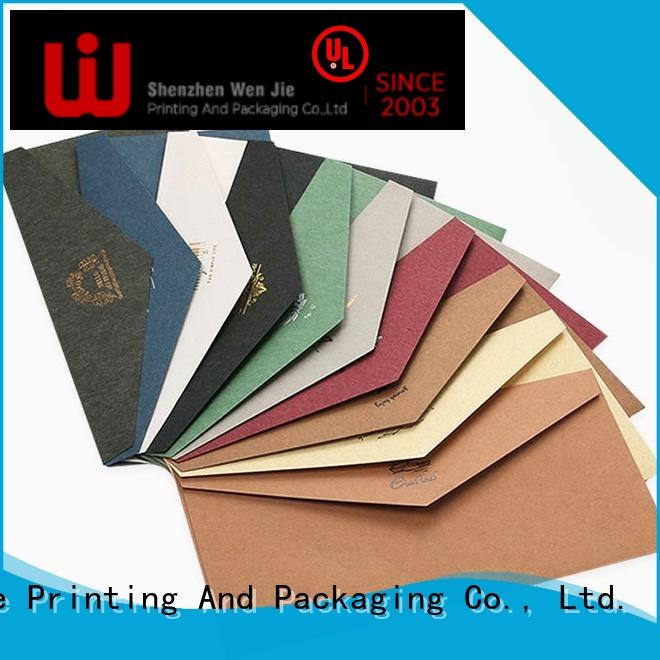WenJie fancy full color poster printing factory for book store