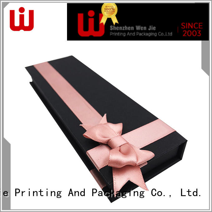 WenJie easy custom magnetic box set for gift